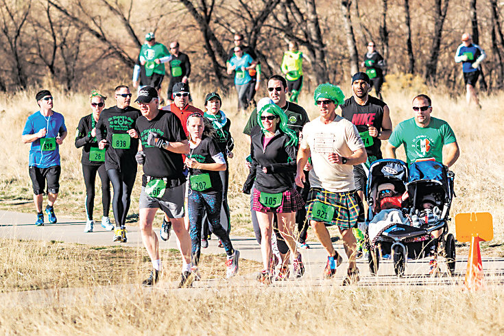 The St. Patrick's Day 5K in Highlands Ranch always draws a crowd.