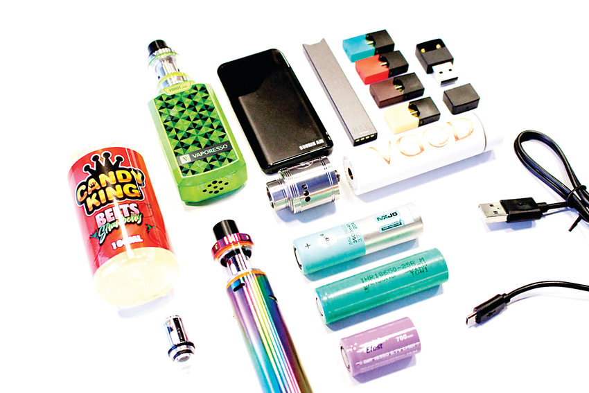 Vape products come in many shapes and sizes.