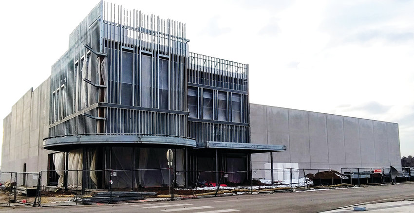 Work on the Alamo Drafthouse Cinema continues at Downtown Westminster, with an estimated opening date of June 21.