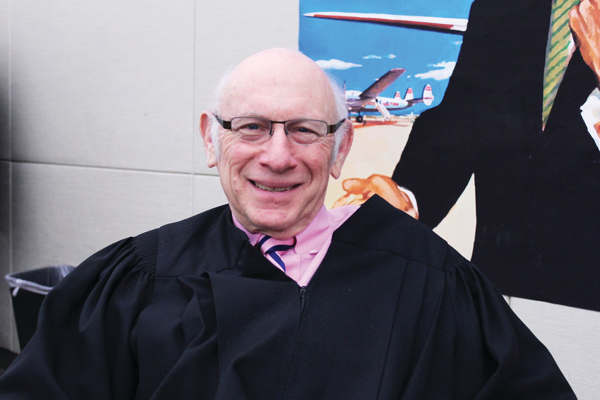 "Although Herb Galchinsky is a retired judge, he has volunteered to do wedding ceremonies at the city for Valentine's Day for the last eight years. He is known as ""Herbie the Love Judge."""