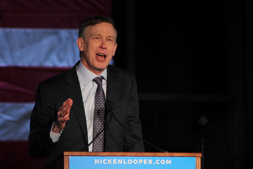 Former Colorado Governor John Hickenlooper launched his presidential campaign at Civic Center Park in Denver on March 7. Hickenlooper spoke about Colorado's economic success, as well as bills he helped pass as governor during his speech.