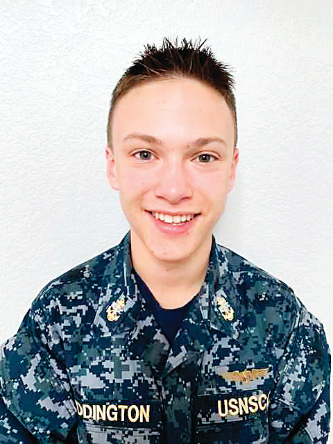 Jack Eddington, 17, will join 30 others in the Sea Cadets program at a Senior Leadership Academy in Virginia in April. Eddington is a junior at Chaparral High School and hopes to continue his service into the Naval Academy after high school.