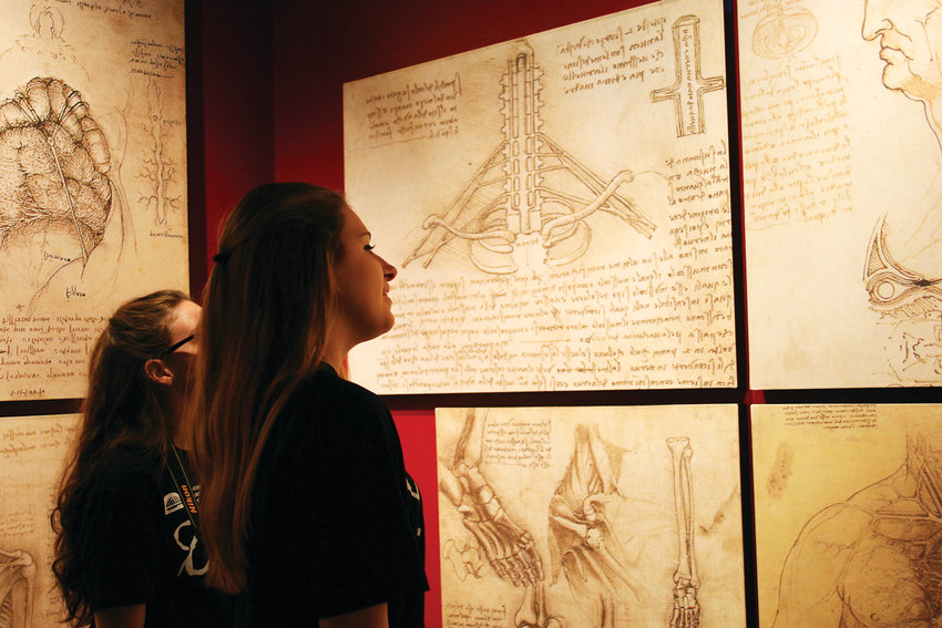 "The ""Leonardo da Vinci: 500 Years of Genius"" exhibit is one of the most comprehensive ever created about the Italian master. Visitors will get to explore his innovations in art, sciences, engineering and more."