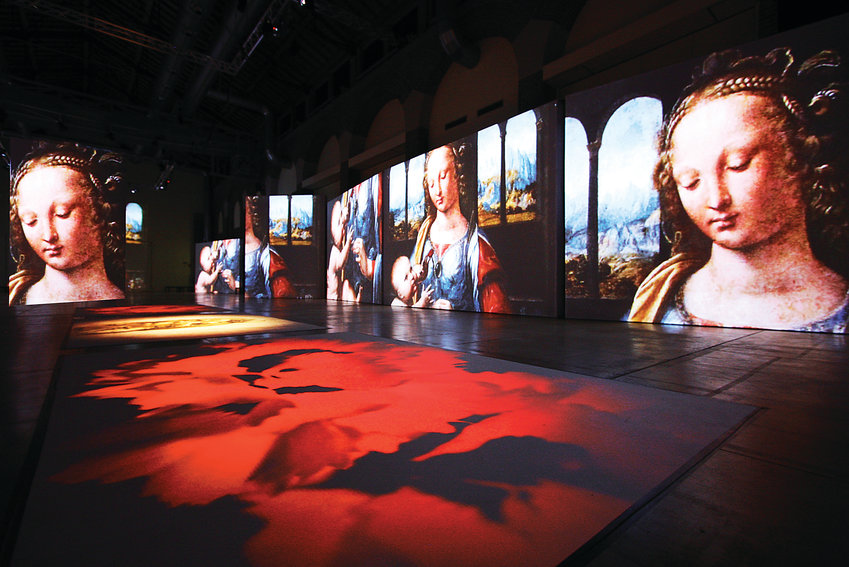 "Leonardo da Vinci is most well-known for his artistic work, including the ""Mona Lisa."" Using state-of-the-art SENSORY4 technology, visitors of ""Leonardo da Vinci: 500 Years of Genius"" will be immersed in the artistic work of the man."