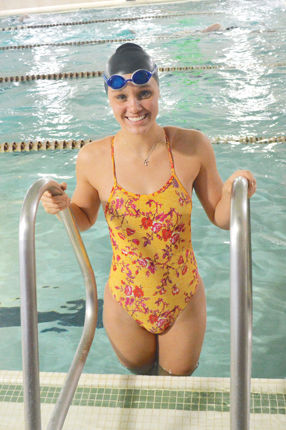 Lindsay Stenstrom of Valor Christian is CCM South Metro Swimmer of the Year.