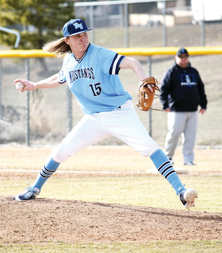 Ralston Valley senior Calvin Hunt picked up a complete-game victory in his first start on the mound this spring season. Hunt had eight strikeouts in the 14-4 win over Grandview.