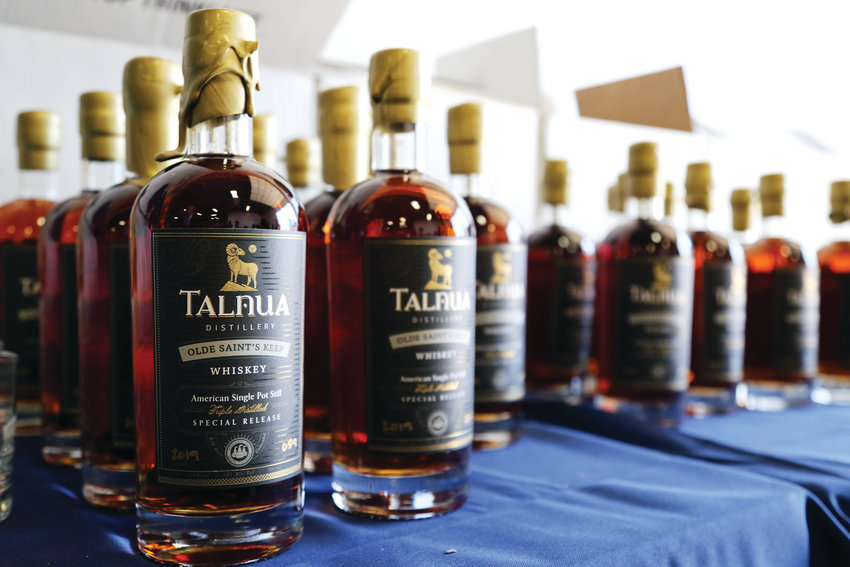 Talnua released its inaugural St. Patrick's Day Special Release of Olde Saint's Keep Whiskey March 16.