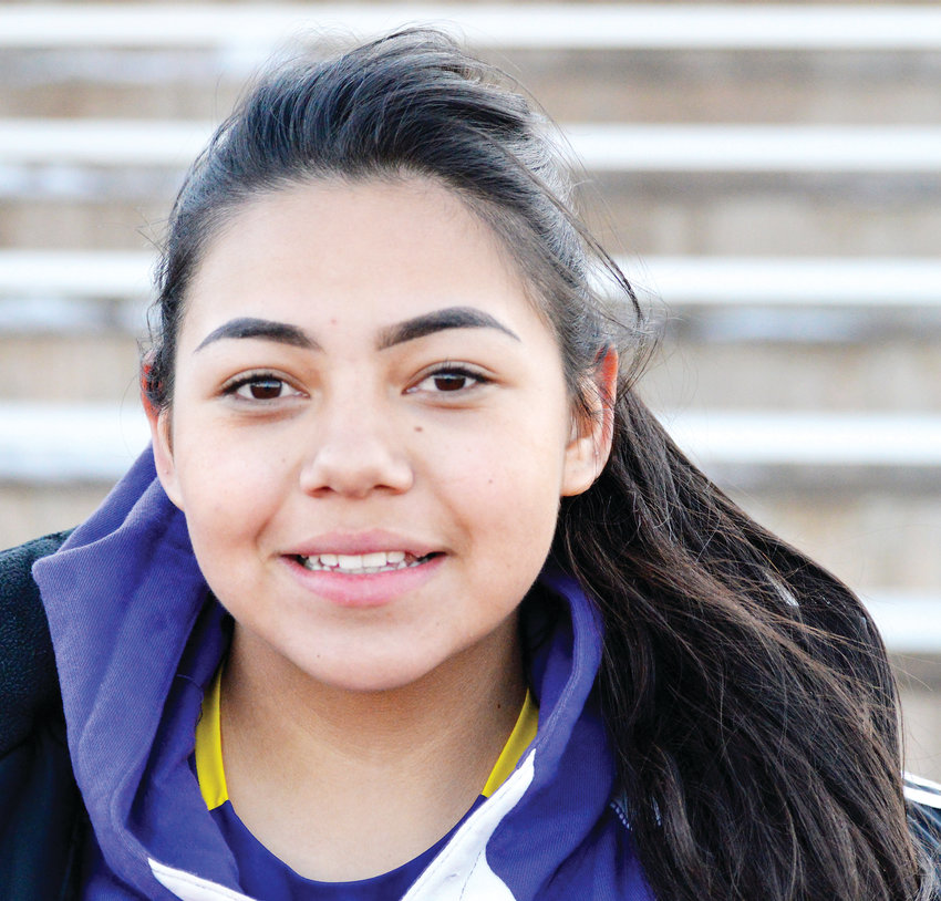 Littleton senior soccer player Elizabeth Hernandez.