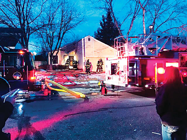 A home on South Windermere Circle was damaged by fire on March 19, a day before a hearing to determine if the house should be torn down after years of code violations.