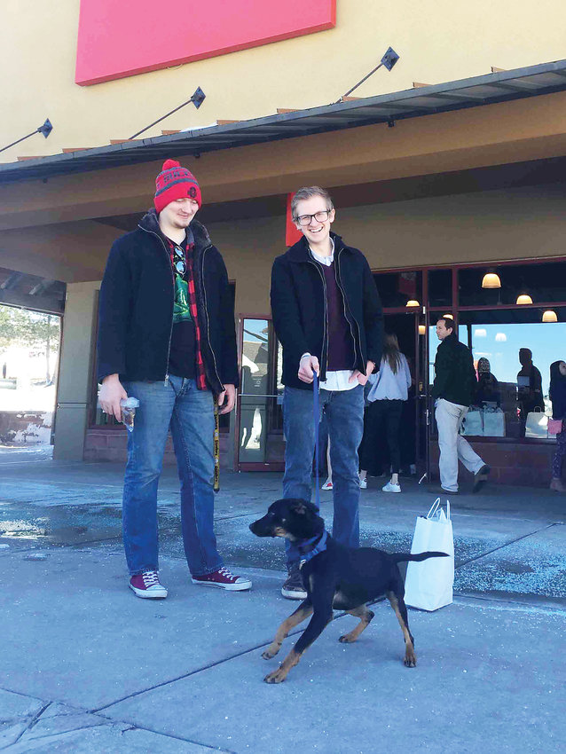 A total of seven dogs found forever homes through the March 16 adoption event at the Outlets at Castle Rock.