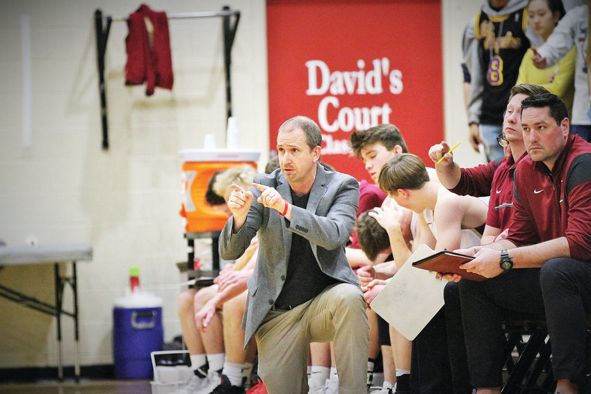 Andrew Hasz is stepping down as head boys basketball coach at Faith Christian after 20 years. Also the school's superintendent, he will become the assistant coach to new head coach Abram Zeimer, a Faith alum who played under Hasz.