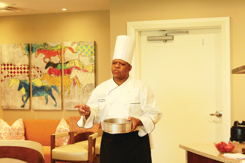 Dave Bolden, executive chef at the Village at Belmar, has 30 years of experience in the food service industry.