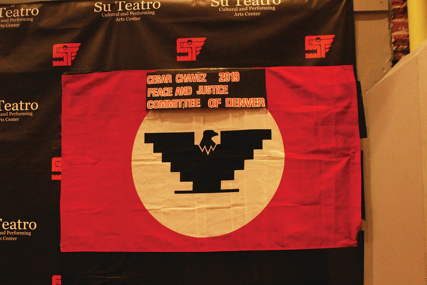 The United Farm Workers flag.