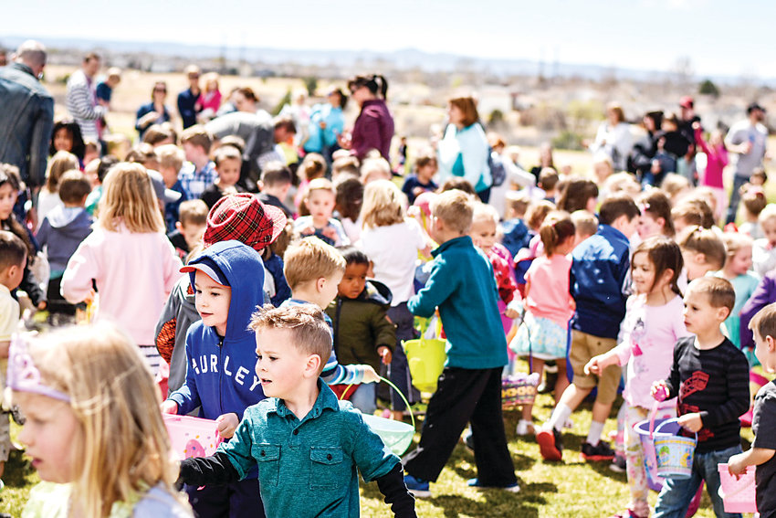 Organizers of Denver metro area egg hunts say hundreds and thousands of children flock to events for egg hunts that take seconds.