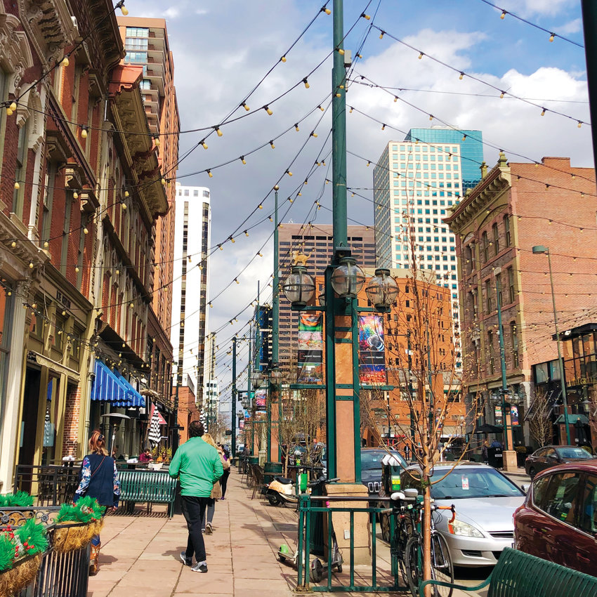 An afternoon in Larimer Square, known as one of the most beloved and authentic districts in Denver. Residents have been pushing back against development here.