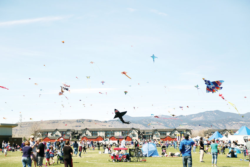 Thousands flocked to Stenger Soccer Complex in Arvada April 7 for the annual Kite Festival.