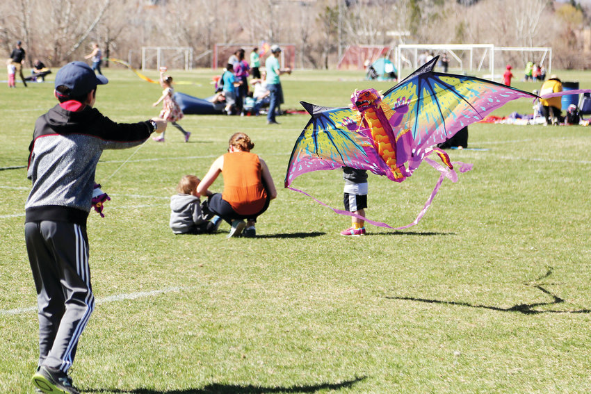 The 17th annual Kite Festival was held in Arvada April 7.