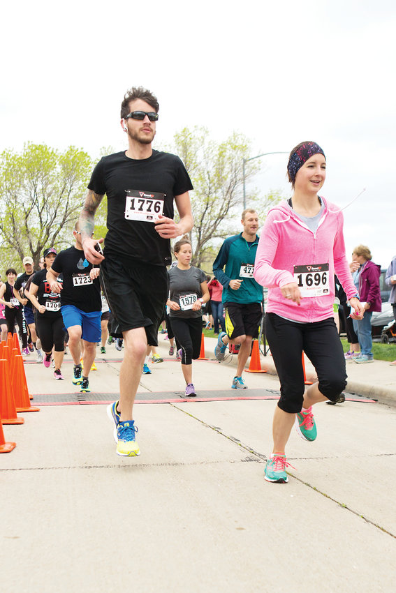 Over 300 people participated in last year's Hope House 5K & Fun Run in Lake Arbor Park in Arvada.