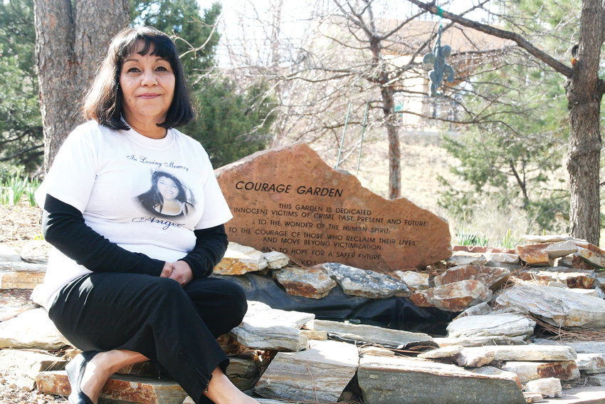 Glenda Gomez of Arvada has been attending the annual Courage Walk since 2006 in remembrance of her daughter Angel Delgado, who was murdered in 2005. This year, the 26th annual Courage Walk takes place on April 13.