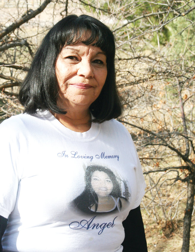 About 40 or 50 friends and family members will be joining Glenda Gomez, whose daughter Angel Delgado was murdered in 2005, at this year's Courage Walk on April 13.