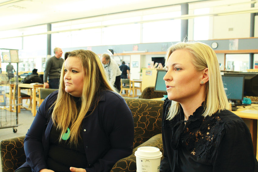 Missy Mendo and Heather Martin were students at Columbine during the shooting. The two helped form the Rebels Project, an organization that helps survivors of mass trauma.