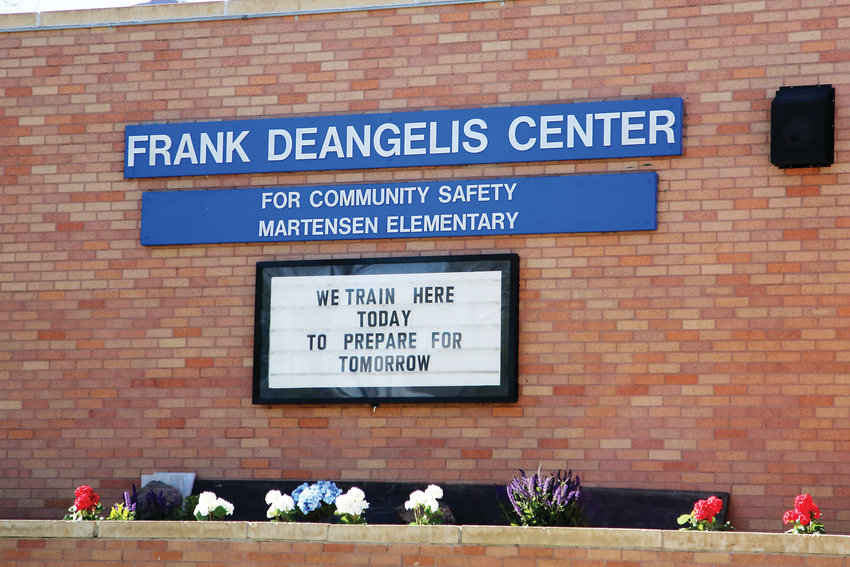 The training center was dedicated to and named after former Columbine High School principal Frank Deangelis.