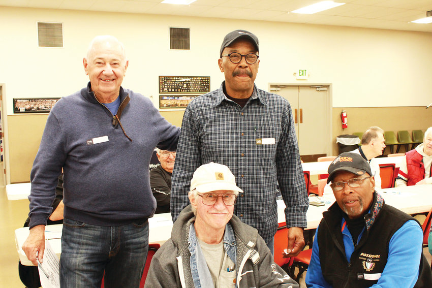 Larry Briggs, Glenn Link, James Rice and Rod Williams, all former Rocky Flats employees.