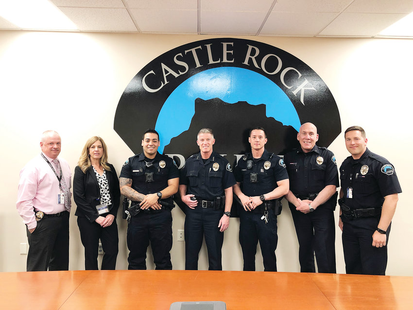 Members of the Castle Rock Police Department made a lip sync video last year that's placed it in the Top 30 of a new CBS show called Lip Sync to the Rescue.