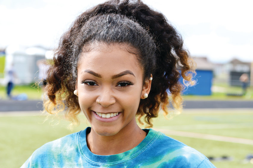 Highlands Ranch senior long jumper, triple jumper Shantine DeMasse.
