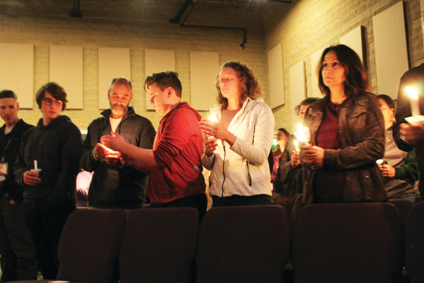 The Mountainview Church in Highlands Ranch held a prayer service and candle light vigil May 8 to memorialize and grieve the victims of the STEM School shooting May 7, which occurred just down the road.