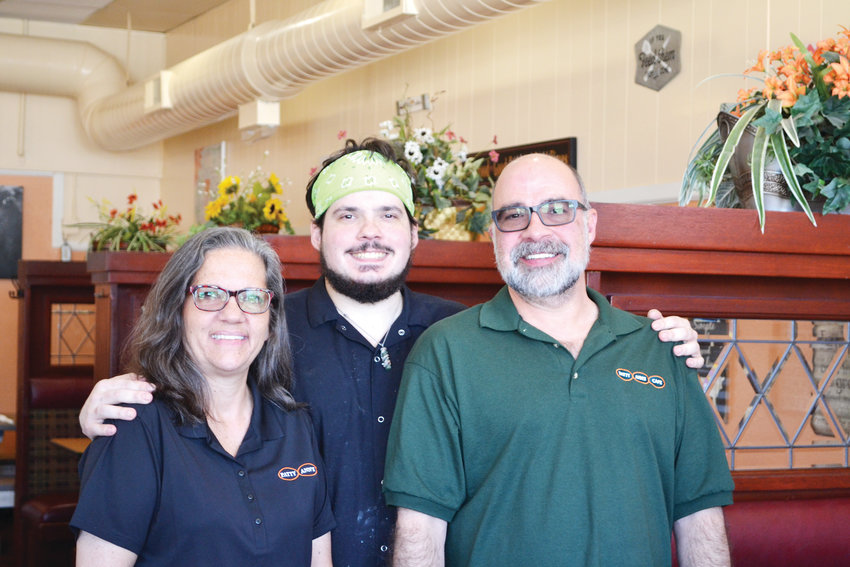 Todd and Annette Burmaster, the owners of Patty Ann's Café, along with their son, Josh, continue a Kiowa tradition and offer homestyle meals in an environment once compared to stepping back into the 1880s.