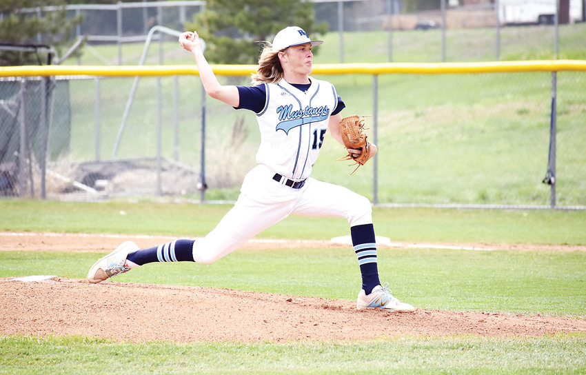 Ralston Valley senior Calvin Hunt tossed a no-hitter against Columbine in the Mustangs' Class 5A Jeffco League finale May 10 at Nate Jurney Field.