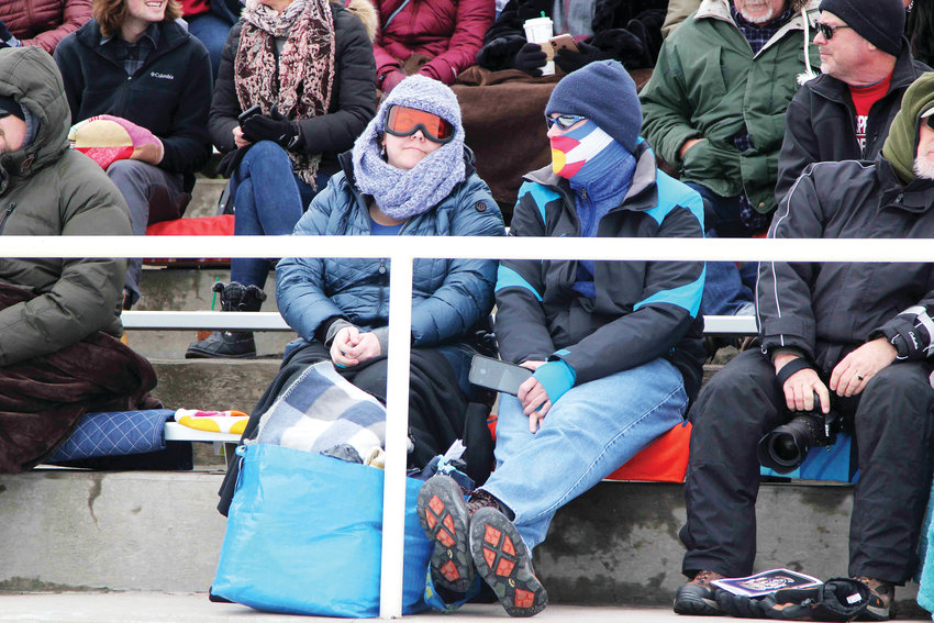 Among the winter weather items worn to a May 21 graduation? Ski goggles and masks. Loved ones came prepared to the Douglas County High School commencement ceremony, which took place one day after a late spring snowstorm.