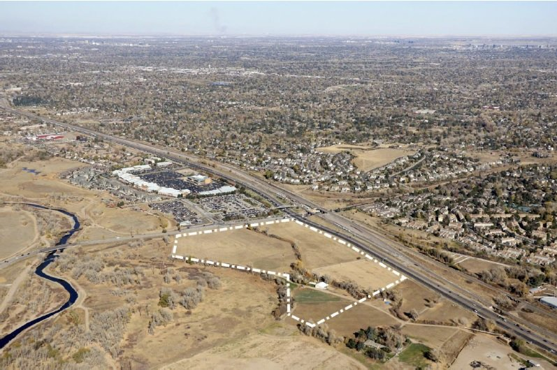 Several retail stores, restaurants, and hundreds of apartments could be coming to the north of the Ensor site at Mineral and Santa Fe.