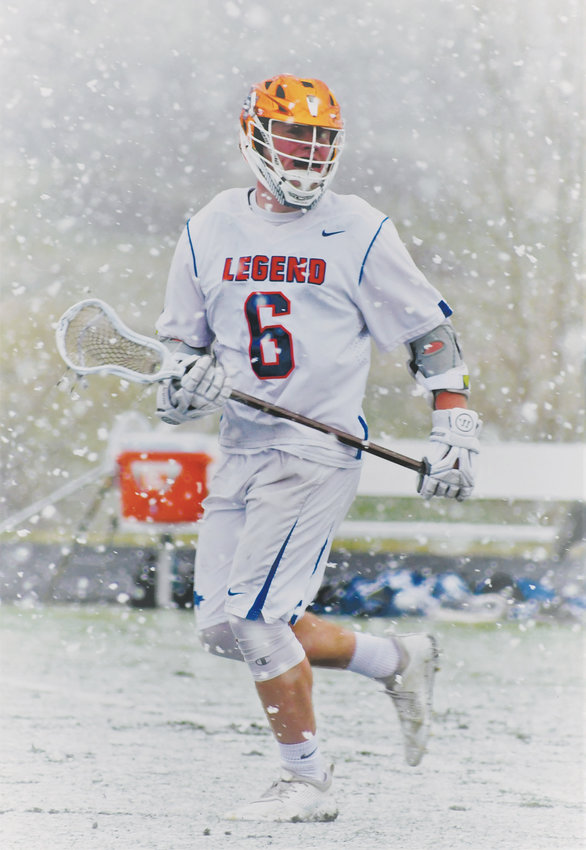 Legend's Caden Meis is the Colorado Community Media Boys Lacrosse Player of the Year.
