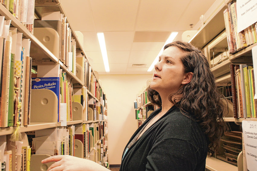 Katherine Crowe, curator of special collections at DU, said that even after a few years of working with the collection, she still finds new discoveries on the shelves. She tries to make the collection as accessible as possible to students.