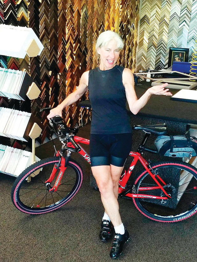 Lesley George and her husband keep busy with their business, Colorado Frame Company.