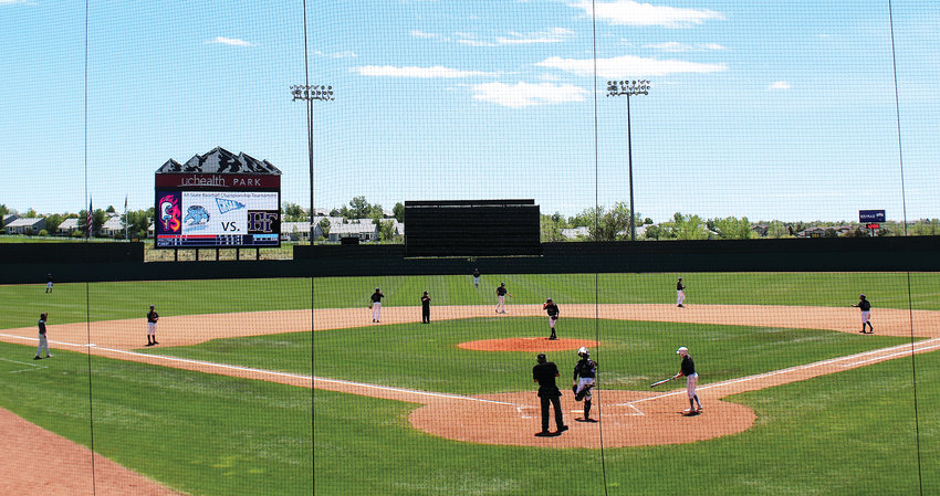 May 31 against Pueblo West, Holy Family baseball plays in the 4A Final Four at UCHealth Stadium in Colorado Springs.