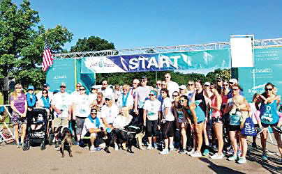 Runners gather at Denver's City Park for Jodi's Race for Awareness, which promotes knowledge around the signs of ovarian cancer and raises thousands for the Colorado Ovarian Cancer Alliance each year.