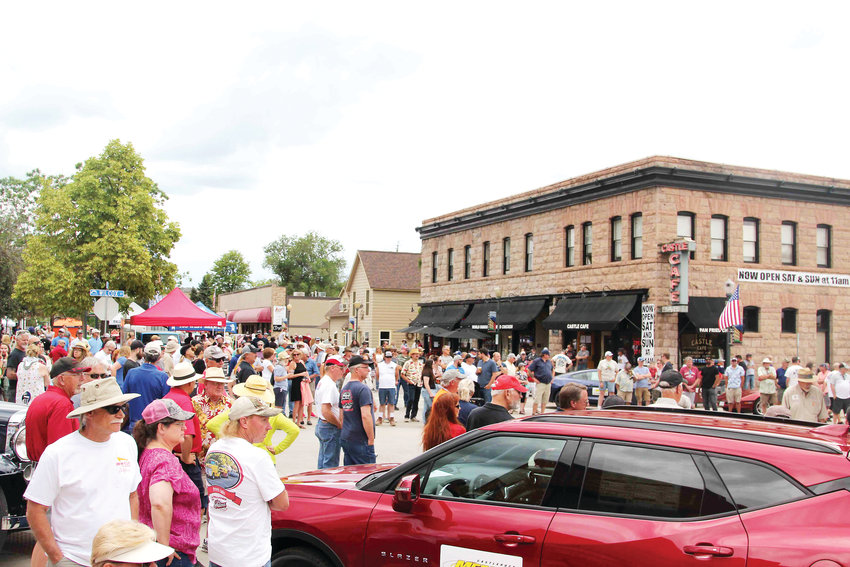 Crowds flocked to downtown Castle Rock on June 15 for the annual car show.
