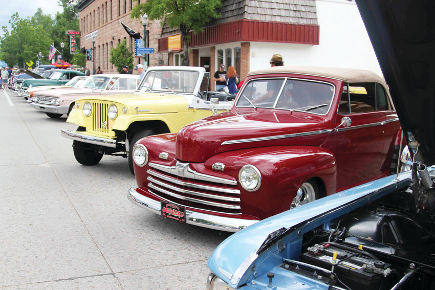 People brought cars of all makes and models to the 2019 car show in Castle Rock.
