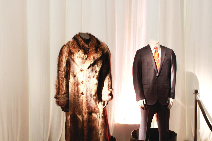 Among the artifacts on display were Bowlen's fur coat and his suit.