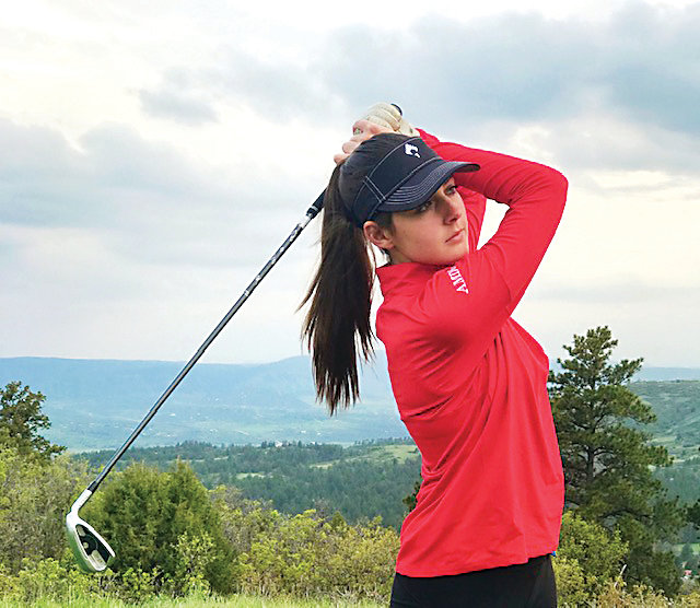 Katie Berrian from Regis Jesuit is CCM's South Metro Girls Golfer of the Year.