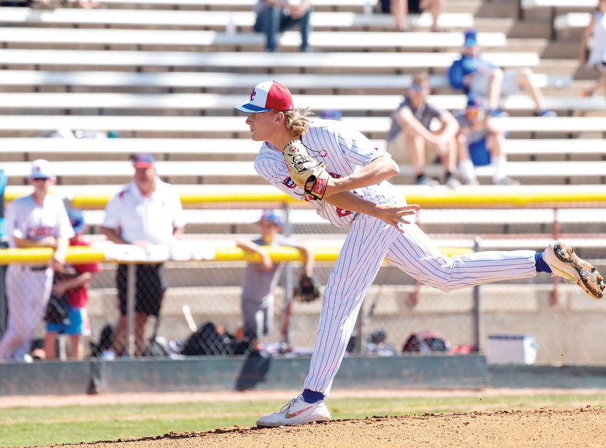 Nathan Mitchell of Cherry Creek is CCM's South Metro Pitcher of the Year.