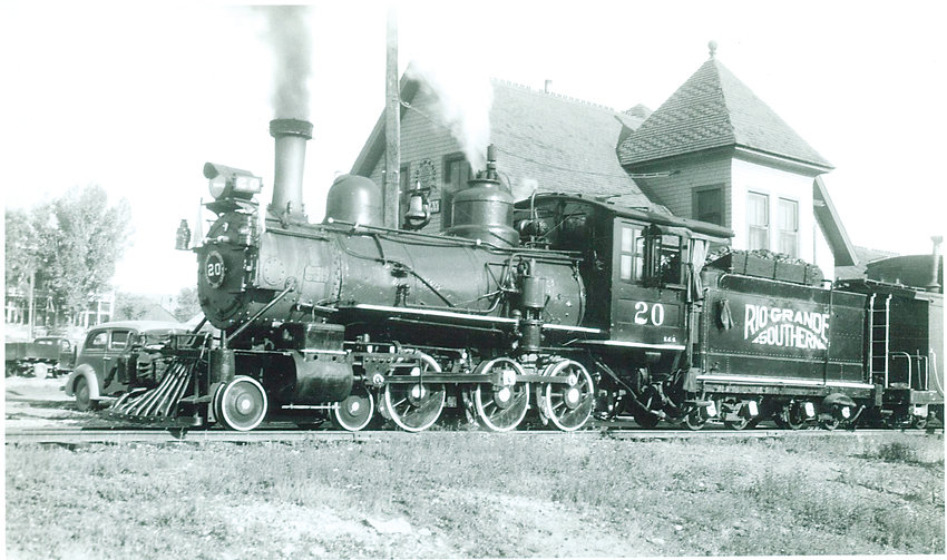 The Rio Grande Southern Locomotive No. 20 was built in 1899 for the Florence & Cripple Creek Railroad.