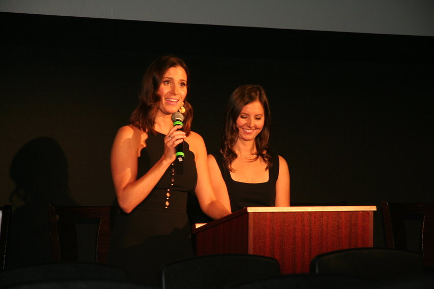 "Kaily Smith Westbrook, left, and Randi Kleiner, right, co-founders of SeriesFest kick off the fifth annual event with a premiere of the new STARZ show, ""The Rook,"" on June 21."