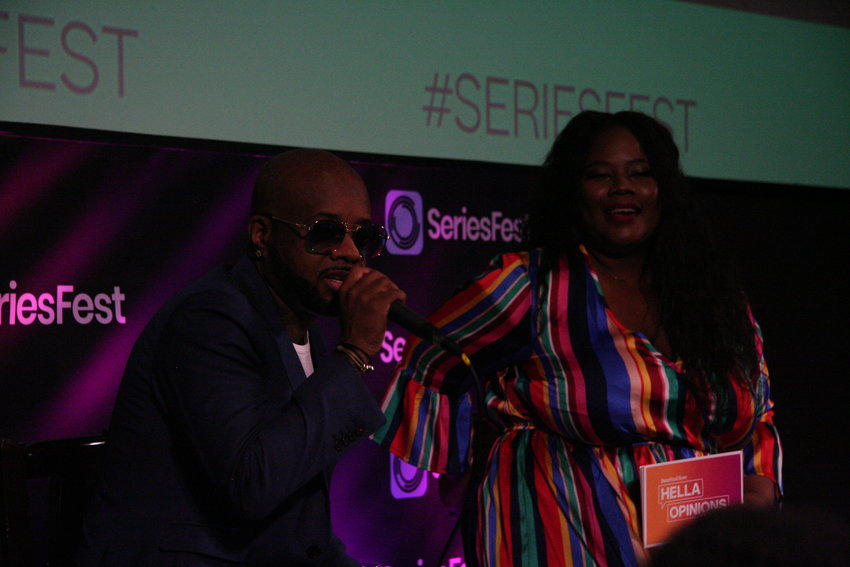 "Following a screening of We TV's ""Power, Influence, and Hip-Hop: The Remarkable Rise of So So Def,"" Buzzfeed's Sylvia Obell moderated a discussion with the show's subject, and So So Def founder, Jermaine Dupri at the SIE Film Center on June 23."