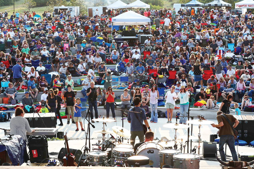 Thousands gather at Philip S. Miller Park in Castle Rock for the annual Summer Jam concert.