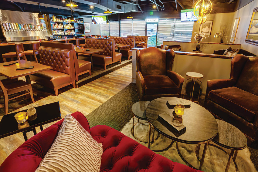 Social Bar & Lounge lends a touch of class to an otherwise sleepy strip mall.