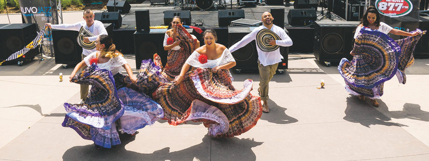 Folkloric dances from Mexico will be featured at Westminster's Latino Festival, July 20 at Westminster Station, 6995 Grove St.